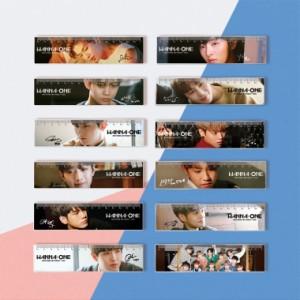 Wanna One(ワナワン) 定規 acrylic ruler04 16cm(幅4cm)★韓流 グッズ 韓国商品 韓流ショップ  韓国