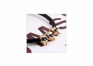 パンクでロックな装いに スカルのコードネックレス どくろ ネックレス ペンダント ネックレス カッコイイ ネックレス ロック ネックレス