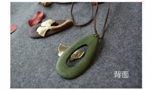 【送料無料】 レディース イチョウ葉 ペンダント プレゼント お祝い  ペンダント   アクセサリ  春財布 春サイフ 激安