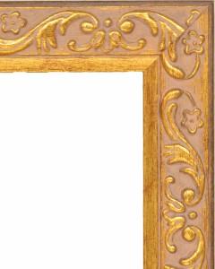デッサン額縁 フレーム 水彩額縁 スケッチ額縁 木製 正方形の額縁 8201 300角サイズ