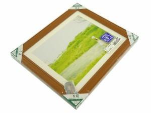 フォトフレーム 写真額縁 木製 カズン サイズ6切 チーク