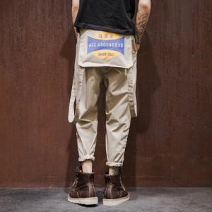 メンズ ファッション ズボン パンツ カジュアル ハロンパンツ チノパン ワイドパンツ ボトムスカッコイイ ゆったり おしゃれ 男子用