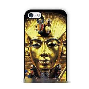 【送料無料】 スマホケース ファラオ黄金マスクアートケース 保護フィルム付 iPhone Galaxy iPod iPad