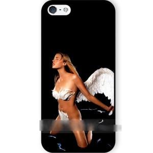 【送料無料】 スマホケース セクシーガール 天使 エンジェル アートケース 保護フィルム付 iPhone Galaxy iPod iPad