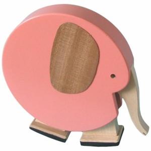 DIHRAS ディラス社 動物の滑り台 カタカタ ぞう カラー 〜チェコ製の癒しの木製玩具。可愛らし