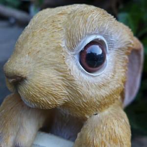 うさぎの置物 垂れ耳うさぎハンギング ラビットハンギングVe 6150H ラビット 兎 オーナメント ウサギ ラパンオーナメント