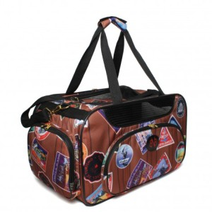 Bark n Bag ペットキャリーバッグ The Traveler Weekender medium