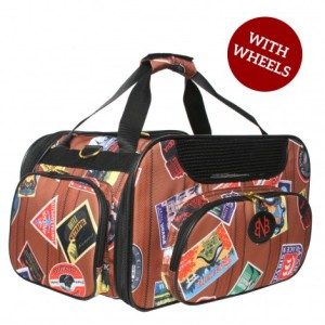 ペットキャリーバッグ Bark n Bag Wheeled Jetway Traveler Weekender