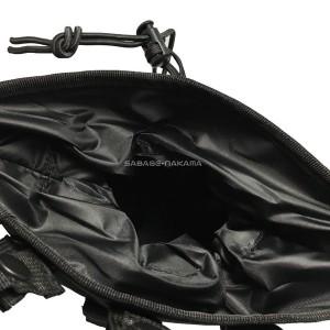 大容量 ドロップ マガジン ポーチ 黒・緑 molle 対応 サバイバルゲーム 装備 服 メンズ レディース
