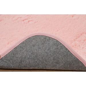 フィラメント素材 ホットカーペットカバー 『フィリップ』 ピンク 185×185cm