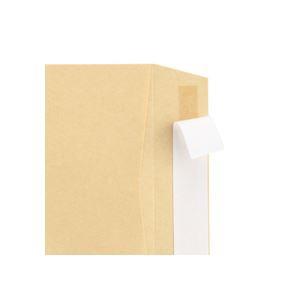 TANOSEE 窓付封筒 ワンタッチテープ付 長3 70g/m2 クラフト 業務用パック 1箱(1000枚)