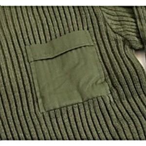 米軍 タイプコマンドセーターレプリカ オリーブ Sサイズ