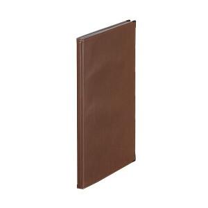(まとめ)  キングジム レザフェス メニューファイル A4タテ型 茶 1972LFチヤ 1冊 【×6セット】