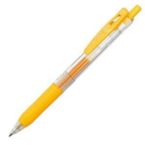 (まとめ)  ゼブラ ゲルインクボールペン サラサクリップ 0.5mm 黄 JJ15-Y 1本 【×60セット】