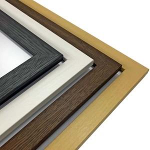 日本製パネルフレーム/ポスター額縁 【B1/内寸:1030x728mmブラック】 壁掛けひも・低反射フィルム付き「5901くっきりパネルB1」