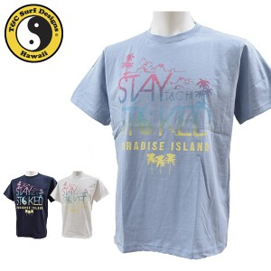 ティーアンドシーサーフデザイン t&c surf designs タウン&カントリー Tシャツ メンズ 半袖 綿 DM2089 メール便も対応