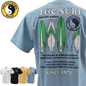 ティーアンドシーサーフデザイン t&c surf designs タウン&カントリー タウカン Tシャツ メンズ 半袖 綿 DM2144【メール便も対応】