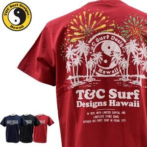 ティーアンドシーサーフデザイン t&c surf designs タウン&カントリー タウカン Tシャツ メンズ 半袖 綿 DM2151【メール便も対応】