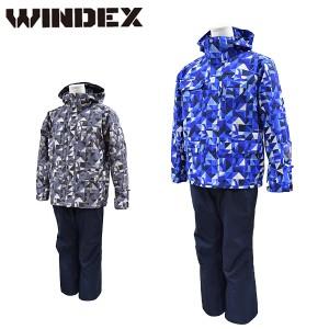ウインデックス windex スキーウェア メンズ M L LL スノーウエア スキーウエア 上下セット WS-1306