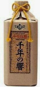 今帰仁酒造所  千年の響 長期熟成古酒 泡盛25度 720ml.hn.e