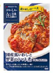 明治屋おいしい缶詰 真いわしと野菜のトマト煮 100g×6缶セットhn ギフト対応 不可 商品