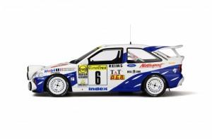 OttOmobile 1:18スケール レジンモデル 1994年モンテカルロラリー フォード エスコート RS Cosworth 4X4 Gr.A