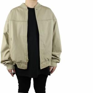 【 USED 】 TOWN CRAFT タウンクラフト ダービージャケット ベージュ メンズ XL 古着 スウィングトップ ブルゾン 大き目サイズ