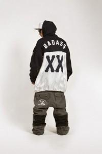 BADASS バダス Dugout Hood Black ビッグサイズ XL 2XL 3XL 4XL BADS スノーボード ウェア パーカー メンズ