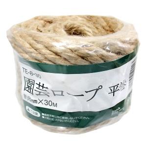 タカショー 園芸ロープ 平巻 TE-8-30 約8mm×30M