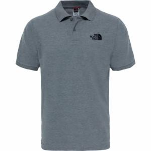 ザ ノースフェイス The North Face メンズ ポロシャツ トップス North Face Piquet Polo Shirt Medium/Grey/Heather/TNF/Black
