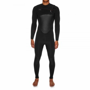 エクセル Xcel メンズ ウェットスーツ 水着・ビーチウェア Drylock 5/4mm 2019 Chest Zip Wetsuit Black