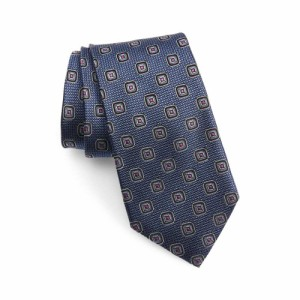 ノードストローム NORDSTROM MENS SHOP メンズ ネクタイ Medallion Silk Tie Navy