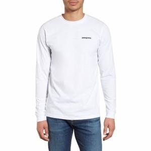 パタゴニア PATAGONIA メンズ 長袖Tシャツ トップス responsibili-tee long sleeve t-shirt White