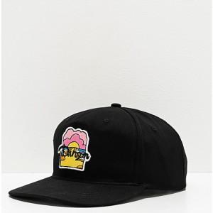 ダンソン *DANSON* メンズ キャップ スナップバック 帽子 danson moon river black snapback hat Black