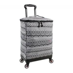 ジェイワールド ニューヨーク JWorld New York メンズ スーツケース・キャリーバッグ バッグ Shopper Rolling Cart Tribal