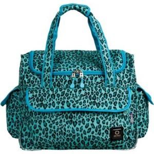ジェイワールド ニューヨーク JWorld New York レディース トートバッグ バッグ Donna Rolling Tote Bag Mint Leopard