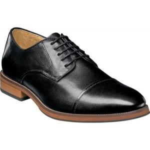フローシャイム Florsheim メンズ 革靴・ビジネスシューズ ダービーシューズ シューズ・靴 Blaze Cap Toe Derby Black Leather