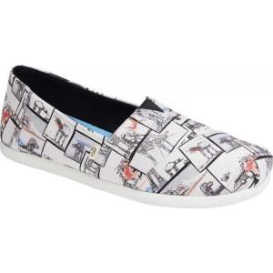 トムス TOMS メンズ スリッポン・フラット シューズ・靴 Alpargata 3.0 Slip-On Shoe White Star Wars AT Print
