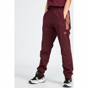 アディダス adidas Originals レディース スウェット・ジャージ ボトムス・パンツ Flamestrike Woven Track Pant Burgundy/Orange