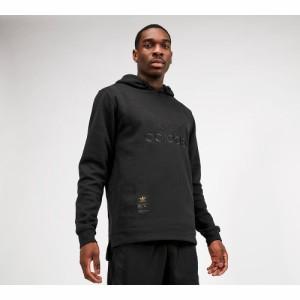 アディダス adidas Originals メンズ パーカー トップス Warm Up Hoodie Black/Gold Metallic