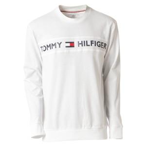 【即納】トミー ヒルフィガー Tommy Hilfiger メンズ 長袖Tシャツ トップス MODERN ESSENTIALS CREW NECK  WHITE ロンT ロングT ロゴ プ