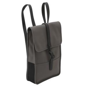 【即納】レインズ RAINS ユニセックス バックパック・リュック バッグ Backpack Mini 1280 Charcoal タウンユース 通勤 通学 撥水 防水