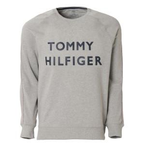 【即納】トミー ヒルフィガー Tommy Hilfiger メンズ スウェット・トレーナー トップス BRUSH BACK FLEECE CREW 09t3918 Grey クルーネッ