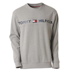 【即納】トミー ヒルフィガー Tommy Hilfiger メンズ 長袖Tシャツ トップス MODERN ESSENTIALS CREW NECK  GRAY HEATHER ロンT ロングT