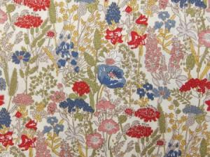 88-0758-1 花柄 コットンスケア 生地 布 ドライフラワーブーケ 8807581 Country Floral Co