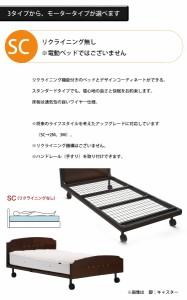 【SC+キャスター+セミダブル】GX-03F グランマックス フランスベッド ベッドフレーム 日本製