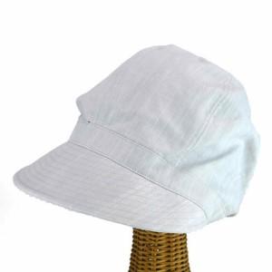 BellugaシンプルリネンMIXキャスケット ヤング帽子
