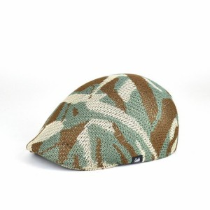 CAMO柄サーモハンチング ヤング帽子 メンズ レディース