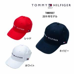 ce2c82175d0  即納 2019SS TOMMY HILFIGER トミーヒルフィガー ゴルフ キャップ TH LOGO CAP ロゴキャップ THMB90EF