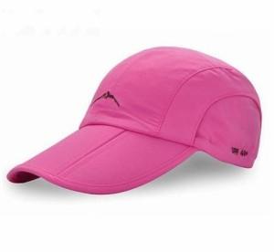 f6418feeedd37 折り畳み 帽子 キャップ アウトドア 登山 釣り ゴルフ スポーツ 防水 男女兼用 メンズ レディース ピンク